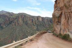 apache trail az - I loved these roads!