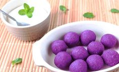 3 simple dessert recipes using purple sweet potatoes