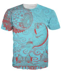 Moon and Manatee T-Shirt Visit ShirtStoreUSA.com for this and TONS of others!
