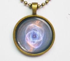 Nebula Image Necklace - Fantasy Cat's Eye Nebula