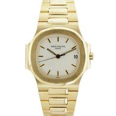 Patek Philippe Nautilus 3800/1J-001 18k Yellow Gold Watch