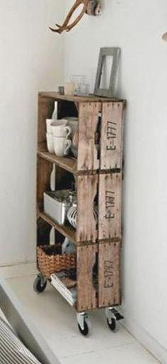 Refolosirea lazilor din lemn este creativa si practica - 49 Idei utile
