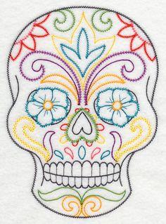 Dulce Fiesta Sugar Skull (Vintage)