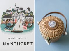 Nantucket details! As seen in: Demure and Dapper on Nantucket | Southern New England Weddings Photo by: Katie Kaizer Photography