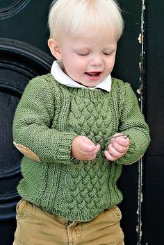 Beautiful sweater! Love the elbow patches.