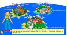 Perla y sus coletas voladoras son las protagonistas de esta divertida aventura, en la que los niños deberán seleccionar una de las isla...