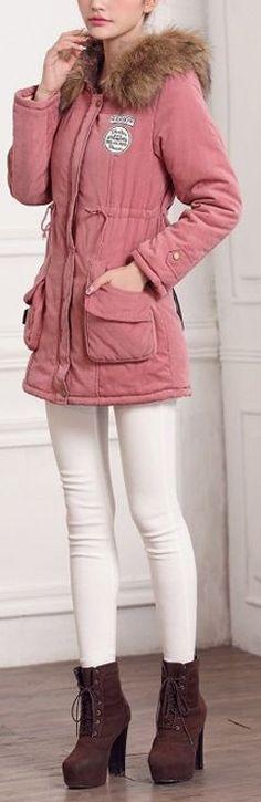 Chill-Cutie Winter Jacket - Pink