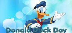 """""""Today is Donald Duck Day! commemorates the debut appearance of Donald Duck on June National Days, What Day Is It, International Day, Embedded Image Permalink, Happy Day, Donald Duck, Disney Characters, Fictional Characters, Facts"""