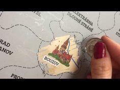 Stírací mapa - České republiky:  Cestujte a poznávejte Českou republiku stouto úžasnou stírací mapou. Objevujte hrady, zámky, historická města, přírodní zajímavosti a spoustu dalších míst, která stojí za návštěvu. Místo, které jste navštivili jednoduše setřete a objeví se Vám pod… Wish