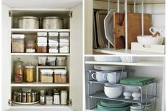 organized kitchen corner cabinet with a diy lazy susan. Black Bedroom Furniture Sets. Home Design Ideas