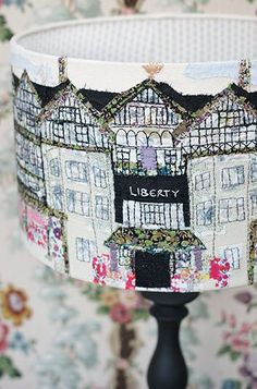 Sail boats lampshade home pin cushion Lighthouse Lampshade up close St Paul's Cathedral shade Floral Lampshades A selection of … Continue reading Gallery → Free Motion Embroidery, Embroidery Applique, Machine Embroidery, Sewing Crafts, Diy Crafts, Liberty Fabric, Textile Artists, Lampshades, Fabric Art