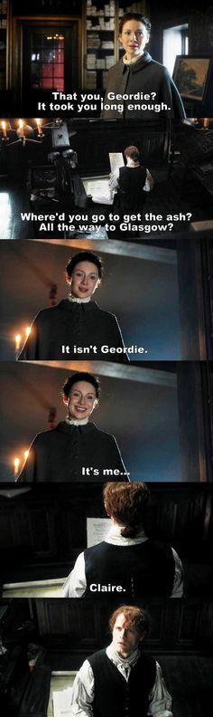 Outlander S03E05 - Jamie & Claire.