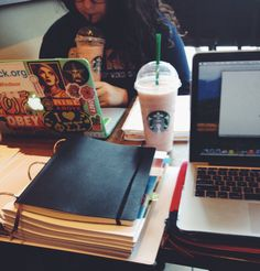Productive Afternoon at Starbucks