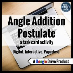 Exterior angles, Angles and Coloring on Pinterest