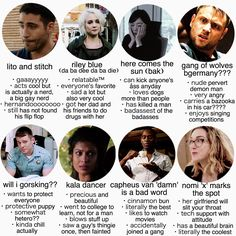 Sense8 tag yourself meme - I'm will i gorksking >> im gang of wolves -David