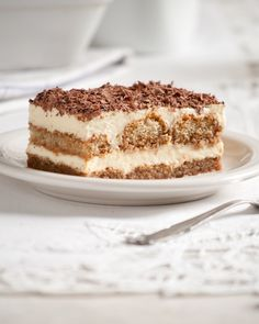"""Tiramisu quite literally means, """"a pick me up."""" One of Italy's most popular desserts. Tiramisu is a rich treat blending the bold flavors. Best Italian Recipes, Italian Desserts, Just Desserts, Delicious Desserts, Yummy Food, Baking Recipes, Cake Recipes, Dessert Recipes, Gf Recipes"""