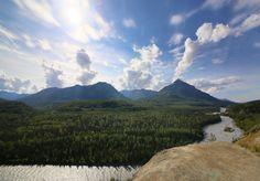 Just a random stop along Alaska highway [OC][2048x1423]   landscape Nature Photos