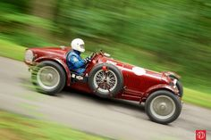 1934 Maserati 8C 3000 at the Hershey Grand Ascent Hill Climb (photo: Matthew Little)