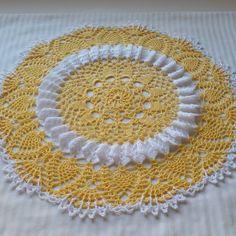 Sunshine Lace Doily - free crochet pattern by Cylinda Mathews at Crochet…