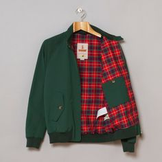 Baracuta Made in England G9 in British Racing Green