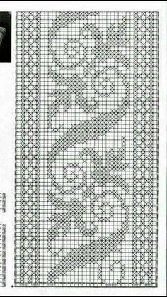 Cross Stitch Patterns, Crochet Patterns, Crochet Embellishments, Crochet Bedspread, Graph Design, Yarn Projects, Filet Crochet, Cross Stitching, Doilies