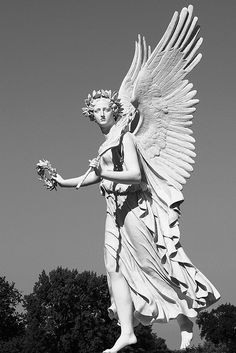 Cemetery Angel. photo by Axel