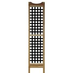 Stiles - Garden Trellis - AL0000GT00 - Home Depot Canada $16.00   --- tall and square grid lattice. Love it.