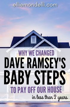 Why we changed Dave Ramsey's Baby Steps to pay off our house in less than tw - Pay off credit card - How long to Pay off credit card? - Why we changed Dave Ramsey's Baby Steps to pay off our house in less than two years. Money Tips, Money Saving Tips, Jamaica, Pay Off Mortgage Early, Total Money Makeover, Debt Free Living, Paying Off Credit Cards, Savings Planner, Budgeting Money