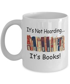 It can't be hoarding if it's #books! Avid readers unite - this is a great gift or get one for yourself. An original design from The Golden Labyrinth shop on Gearbubble - not available in stores. Grab one ... or more! now. https://www.gearbubble.com/gbstore/labyrinth