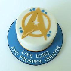 Star Trek Cake - The Cake Crusader, Custom cakes in Western MA