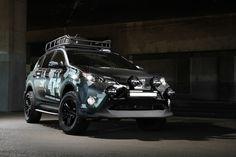 The LRG X DUB Magazine x Toyota RAV4 Is a Professional Sound Studio on Wheels