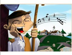 A shepherd boy cries wolf just for fun, when the real wolf shows up no one believes him. Baby Songs, Kids Songs, English Units, Spring Crafts, Boys Who, Crying, Wolf, Books, Google Play