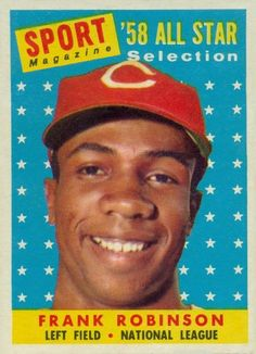 1958 Topps Frank Robinson All Star