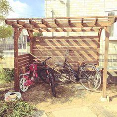 Entrance/庭/DIY/サイクルポート/自転車置き場のインテリア実例 - 2017-10-11 00:48:21