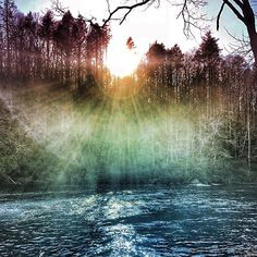 Feeling the luscious power of #Spring arising buds peeking forth and warmth gracing the waterfalls... #Magic is awakening in the trees birds are singing and the light of the Sun is dancing in my Soul...