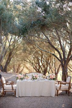 magical table setting