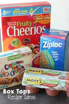 Box Tops Recipe Ideas - Help your schools by collecting and get a ton of recipe ideas! #ad #BTFE