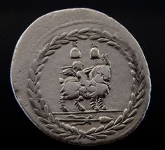 The Etruscan temple Vejovis (young Jupiter) was placed in the lower part of the Capitol on Asylum in a part of the Tabularium. This temple contained a statue of Jupiter child on the goat Amalthea, which is shown on the reverse of our denarius. | eBay!