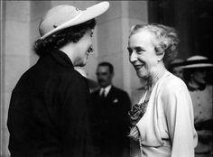Two Belgian Queen Consort: Queen Fabiola and Queen Elisabeth