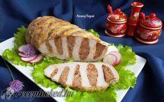 Legyező karaj recept fotóval