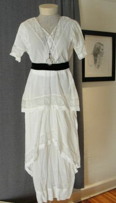 1910s summer dress - Google Search