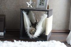 design katzenm bel kratzbaum katzengras in wei gr e s kratz die katz design. Black Bedroom Furniture Sets. Home Design Ideas