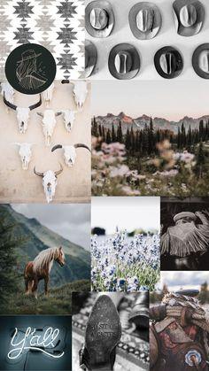 iPhone Background: Western Aesthetic