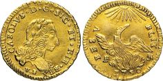 NumisBids: Numismatica Varesi s.a.s. Auction 65, Lot 536 : PALERMO - CARLO DI BORBONE (1734-1759) Oncia d'oro 1750, sigle F N....