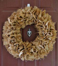 DIY: Burlap Wreath