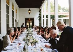 NEW MEXICO: LOS POBLANOS HISTORIC INN AND FARM  Enjoy a post-ceremony dinner on the terrace when you book your wedding on this farmland, set on 25 acres of stunning lavender fields.
