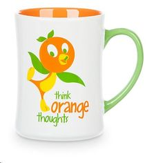 Disney World Parks Orange Bird Coffee Mug Tea Cup Think Orange Thoughts Disney World Theme Parks, Disney World Magic Kingdom, Disney Mugs, Disney Art, Disney Stuff, Walt Disney, Coffee Cups, Tea Cups, Disney Enchanted