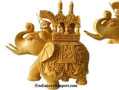 Elephant statue ambari by indiancraftexport.deviantart.com on @deviantART