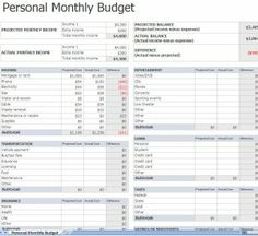 Monthly Bill Organizer on Pinterest | Monthly Budget, Monthly Budget ...