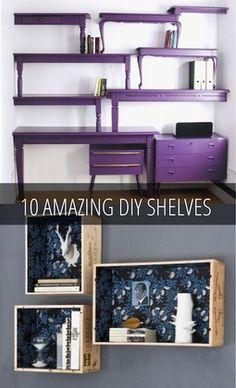 Cool shelving